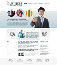 free business web templates