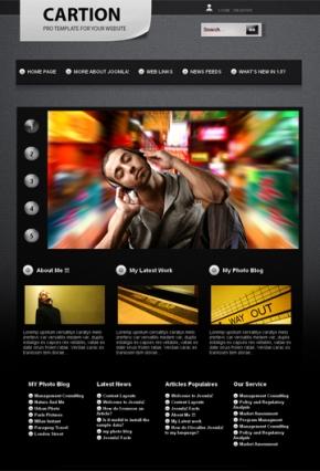 Free joomla web theme