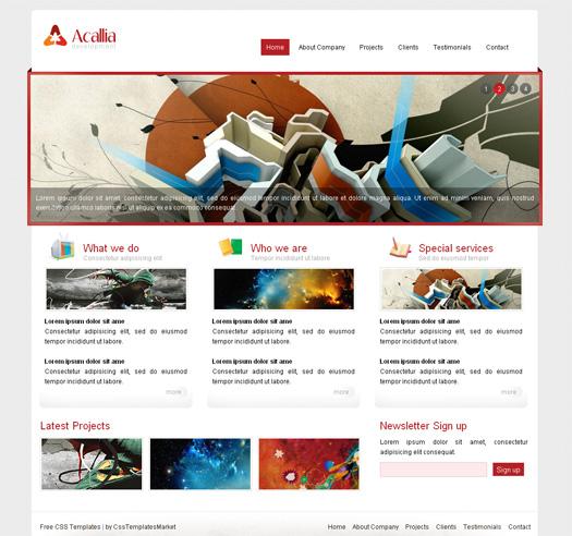 free html web templates