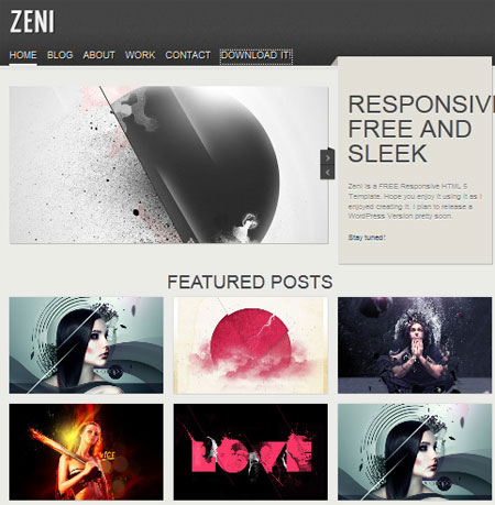 html css web templates free download