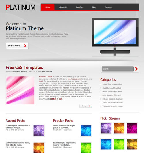 free web templates online