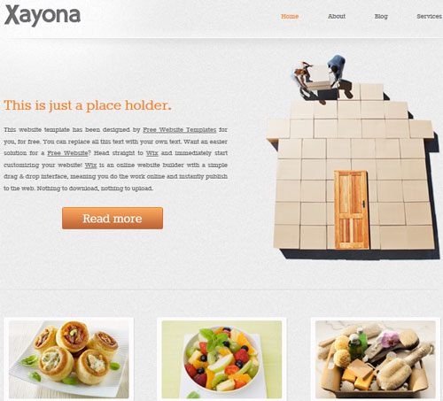 web templates free download