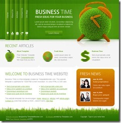 Free business web templates for online