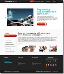 free Industrial web templates