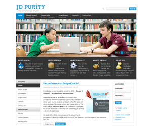 free education drupal templates