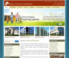 free dropal real estate themes