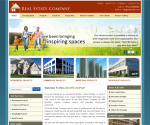 free dropal real estate themes