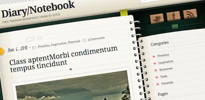 Free WordPress Diary Theme