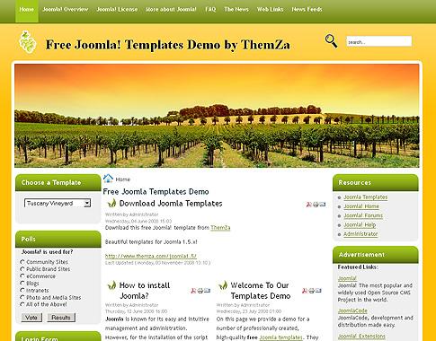 free joomla web templates