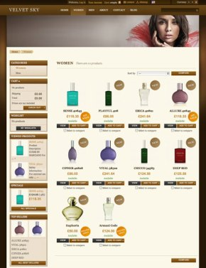 ecommerce cms prestashop webtemplates