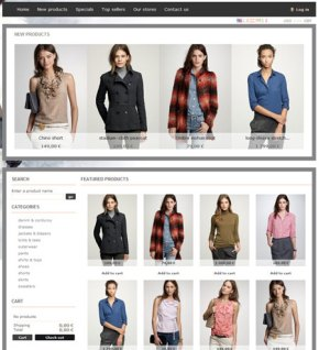 online shopping cms themes free downloads