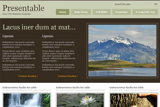 web templates downloads