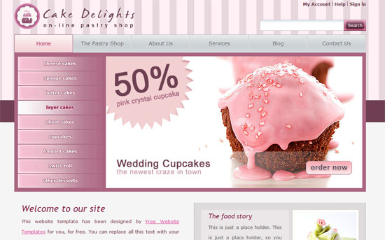 web templates download