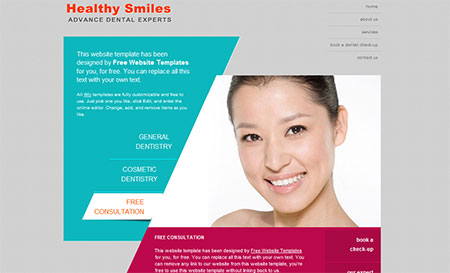 health web templates download