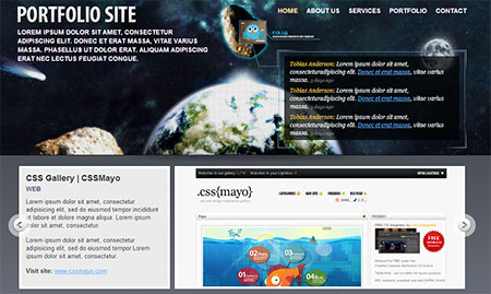 creative web templates