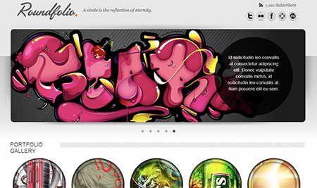 creative web templates free download