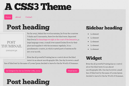 free html5 web templates download