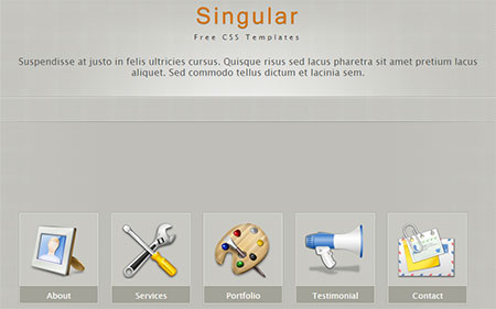 animation web templates download