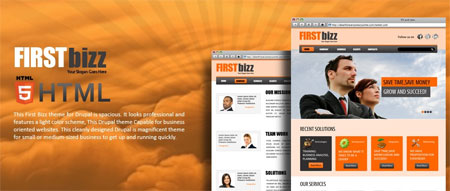 drupal business templates free download