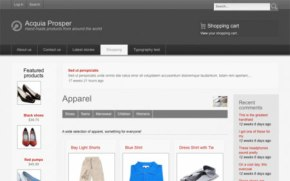 drupal ecommerce templetes free download
