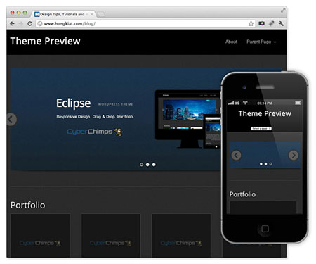 responsive wp themes free download