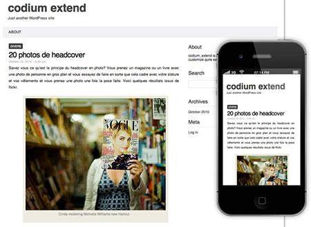 responsive blog themes