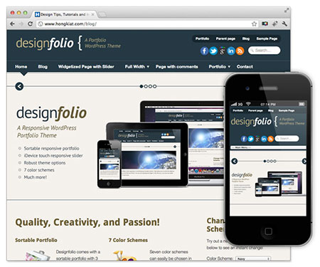 free responsive wordpress themes download