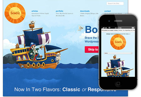 responsive wordpress themes 2012