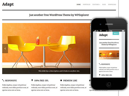 wp responsive themes download
