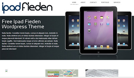 free ipad themes download