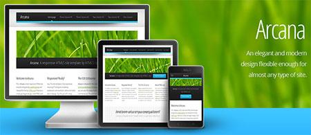 html5 responsive web templates