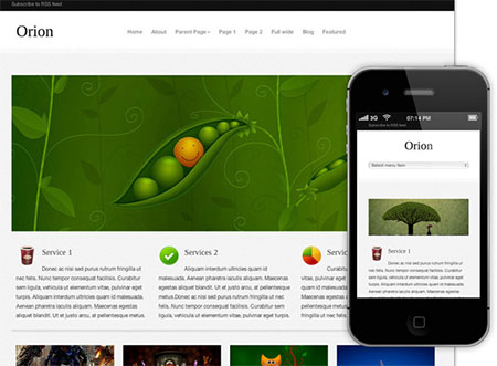 wordpress blog responsive themes download