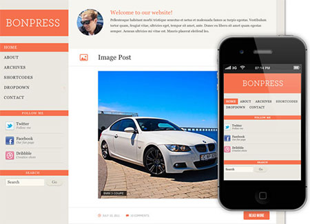 responsive wordpress themes free download