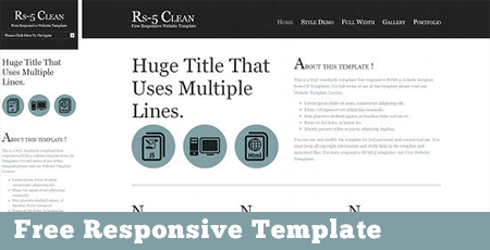 free responsive web templates download