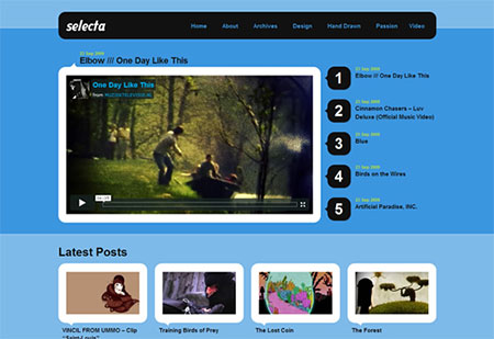 best video themes for wordpress