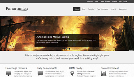 wordpress responsive business theme