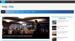free corporate blog theme