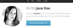 responsive resume templates