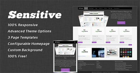 free wordpress responsive themes download