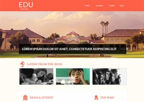 free joomla education templates