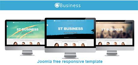 free business responsive joomla templates