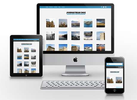 Free Responsive WordPress Photography Theme