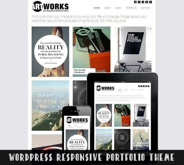 portfolio wordpress responsive themes