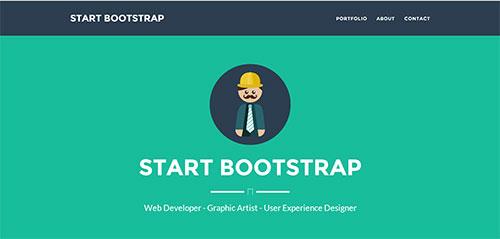 Start Bootstrap Theme