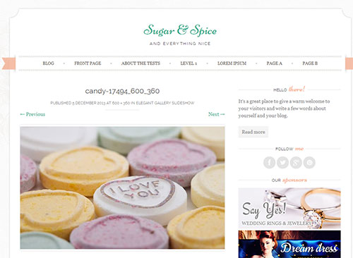 Sugar & Spice Image